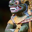 Closeup of Balinese God statue — Stock Photo
