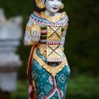Vertical photo of beautiful Balinese statue — Stock Photo