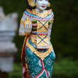Stock Photo: Vertical photo of beautiful Balinese statue