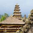 Panoramic photo of Besakih temple complex - Stock Photo
