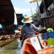 floating market — Stock Photo
