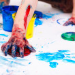 Royalty-Free Stock Photo: Finger paints