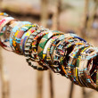 Masai traditional jewelry - Stock Photo