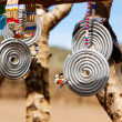 Stock Photo: masai traditional jewelry
