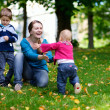 Family outdoors — Stock Photo #3725023
