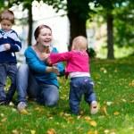 Family outdoors — Stock Photo #3725023