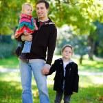 Autumn family — Stock Photo