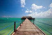 Oceano tropicale — Foto Stock