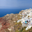 Stock Photo: Oia village in Santorini