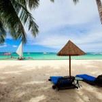 Beautiful exotic beach — Stock Photo #3855499
