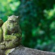 Balinese style monkey sculpture — Stock Photo #3855968