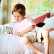 Casual portrait of little boy at home — Stock Photo #3856009