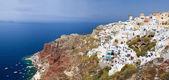 Oia village in Santorini — Stock Photo
