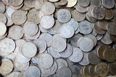 Collection of old coins — Stock Photo