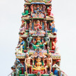 Sri Mariamman hindu temple - Stock Photo