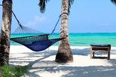 идеальный тропический рай — Стоковое фото