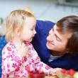 Loving father and daughter portrait — Stock Photo #3903872