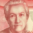 Gabriela Mistral - Stock Photo