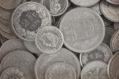 Swiss Francs — Stock Photo