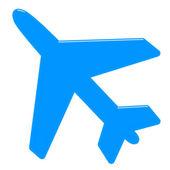 3D Airplane — Stock Photo