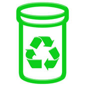 3D Recycle Bin — Stock Photo