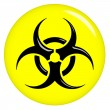 3D Biohazard Sign — Stock Photo #3481455
