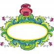 Royalty-Free Stock Vector Image: Floral frame ( floral series)