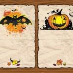 Halloween textured backgrounds 2 — Stock Vector #3909016