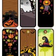Halloween  tags - Stock Vector