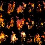 火模板 — 图库照片