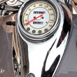 Stock Photo: Motorcycle speedometer