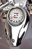 Motorcycle speedometer — Stock Photo