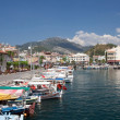 City harbor in marmaris — Stock Photo