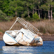 Rusty boat — Stock Photo