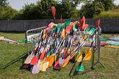 Kayak paddles — Stock Photo
