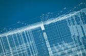 Abstract blueprint — Stock Photo