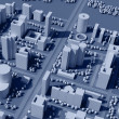 3d map of city — Stock Photo #3383661