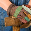 Hands of worker — Stock Photo #2995125