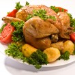 Stockfoto: Grilled chicken