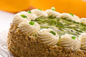Bisquit cake — Stock Photo