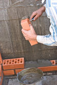 Bricklaying — Stock Photo