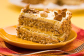 Almond cake — Stock Photo