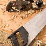 Carpenters tool — Stock Photo