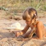 Little girl — Stock Photo #3759282