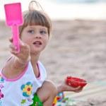 Little girl — Stock Photo #3830341