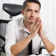 Royalty-Free Stock Photo: Real office worker