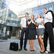 Group of office workers — Stock Photo #3690868