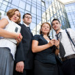 Group of office workers — Stock Photo