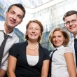 Happy office workers — Stock Photo #3742361