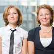 Stock Photo: Real office workers